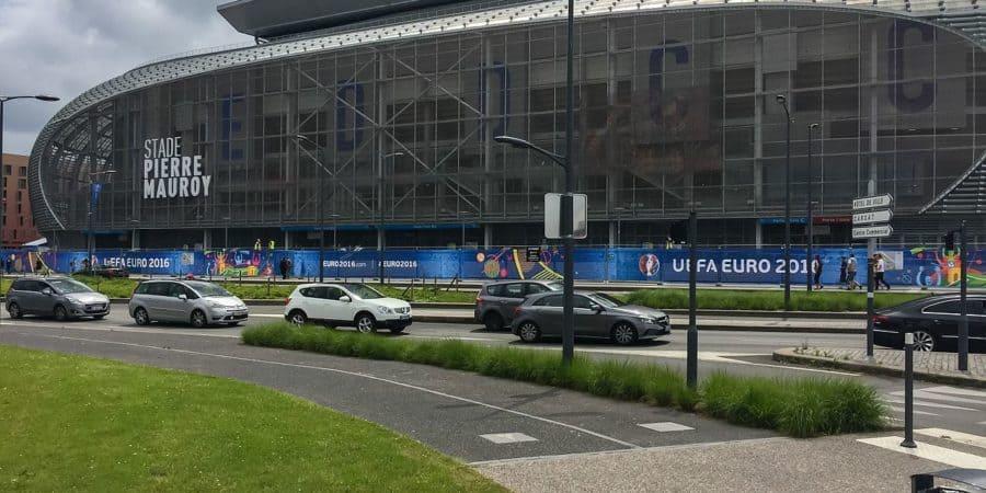 Stade pierre mauroy à villeneuve d'ascq