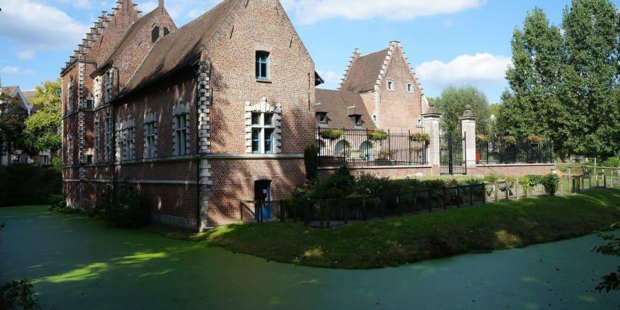 Le chateau de Flers à Villeneuve d'Ascq